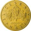 Zlatá mince 10000 Kč 2018 Vznik Československa PROOF