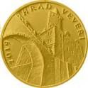 Zlatá mince 5000 Kč 2019 hrad Veveří Proof