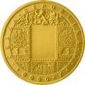 Zlatá mince 10000 Kč 2019 zavedeni československé měny BK,Standard