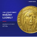 Zlatá mince 10000 Kč Kněžna Ludmila Standard,BK